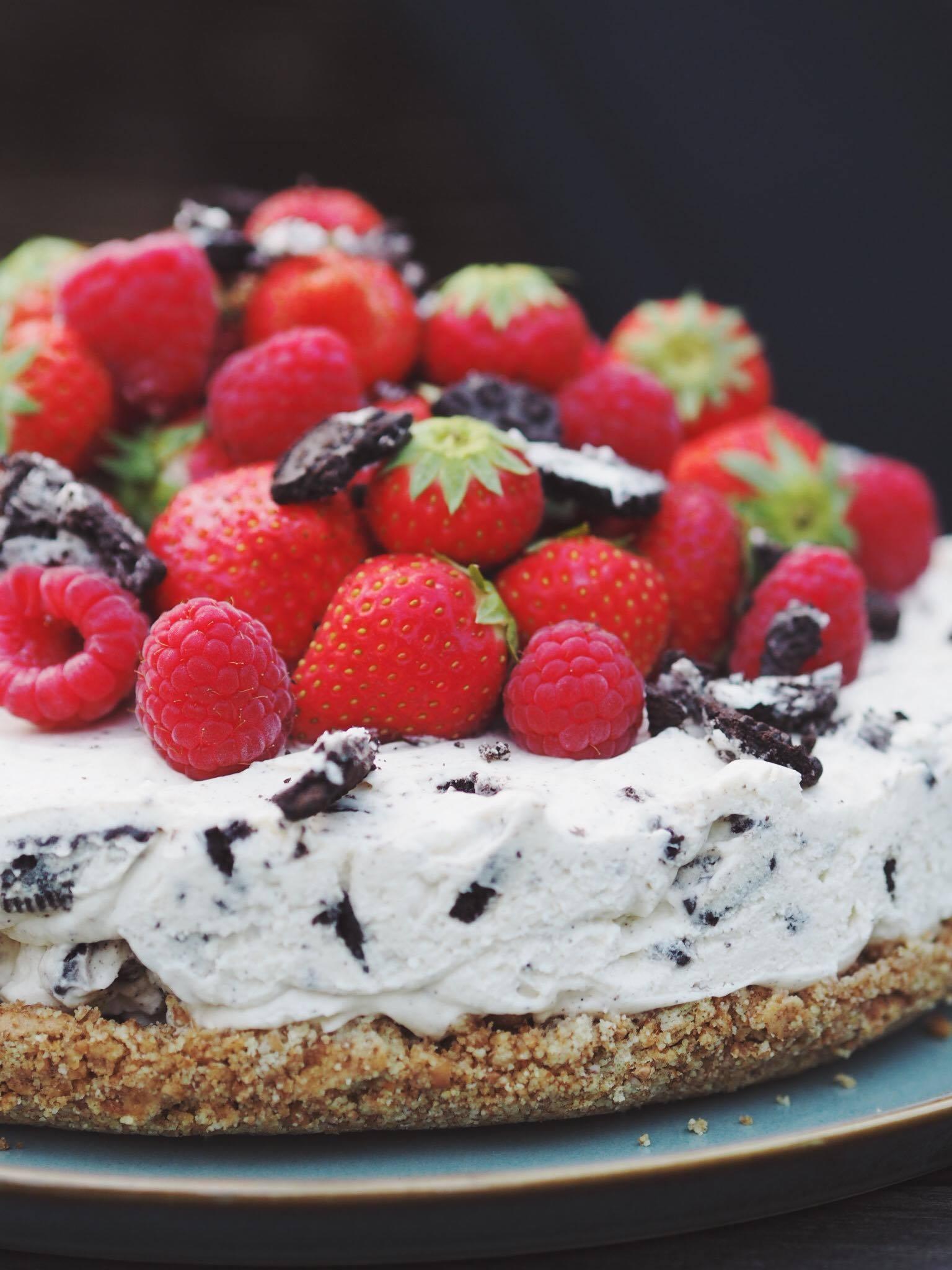 cheesecake oreo opskrift