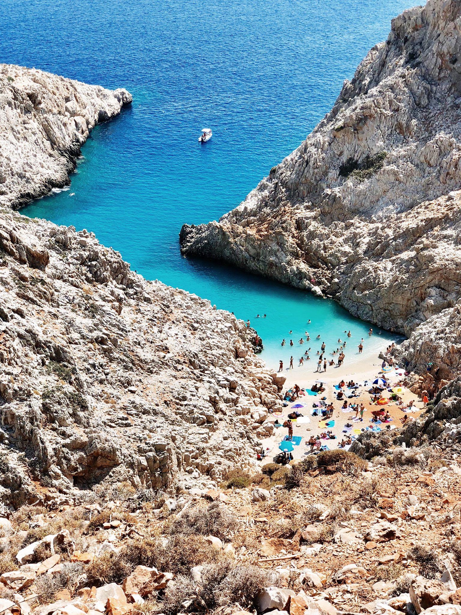 Rejseguide til gode seværdigheder, spisesteder og strande på Kreta