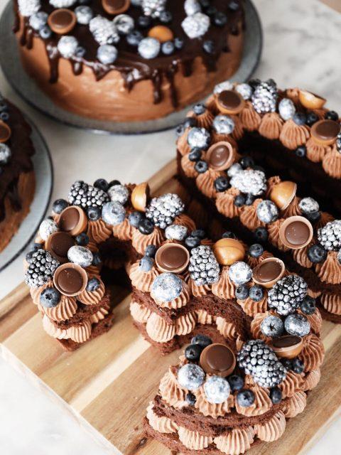 Number Cake og kagebestillinger