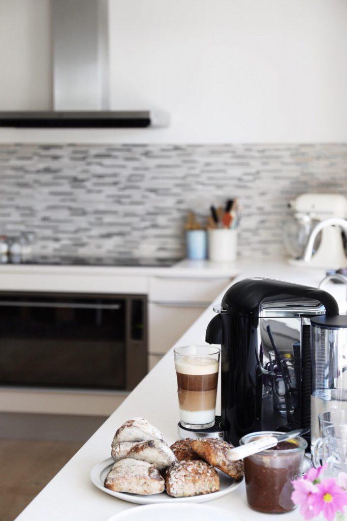 Vertuo Nespresso, mit køkken og chocolate spread