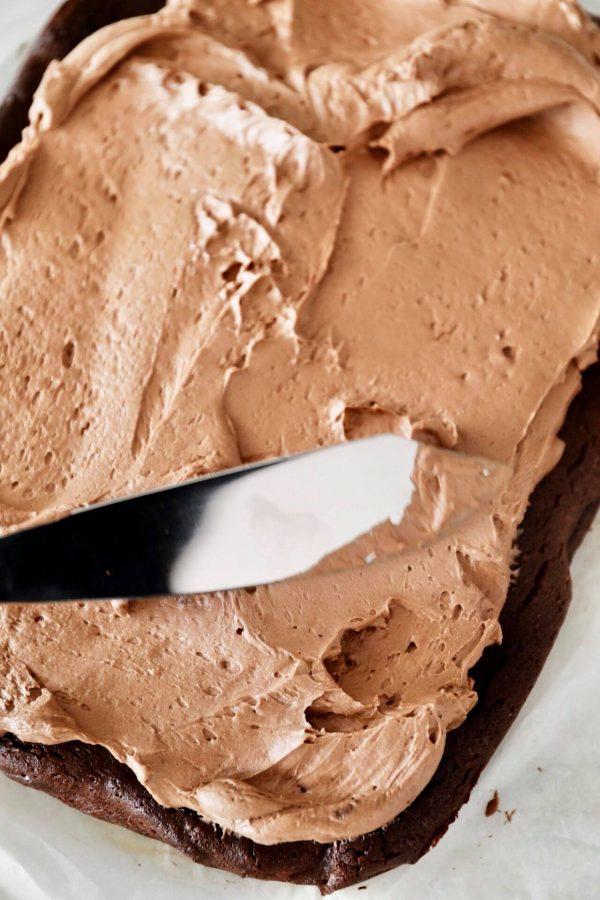 Glutenfri chokoladekage med den bedste chokolade smørcreme