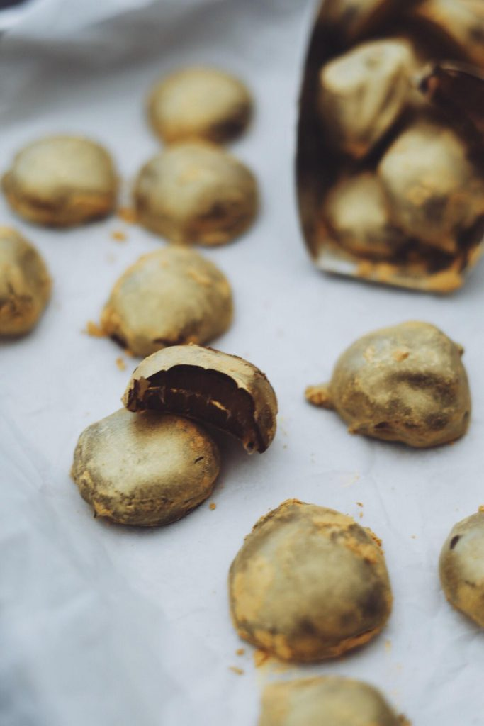 Hjemmelavede guldkarameller