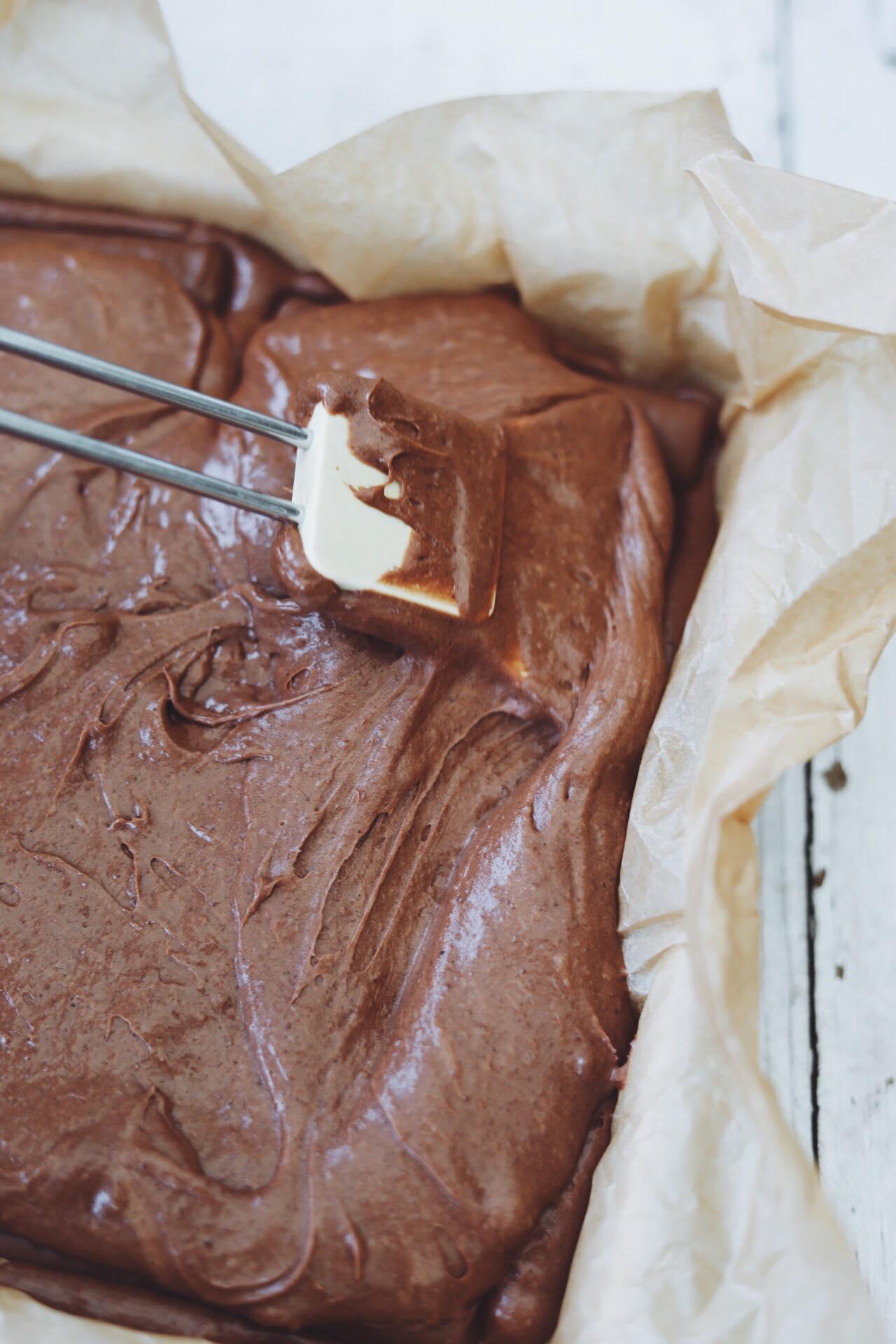 Brownie med Twix