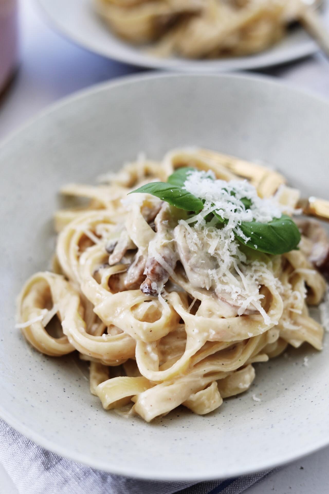 One Pot Spaghetti Carbonara
