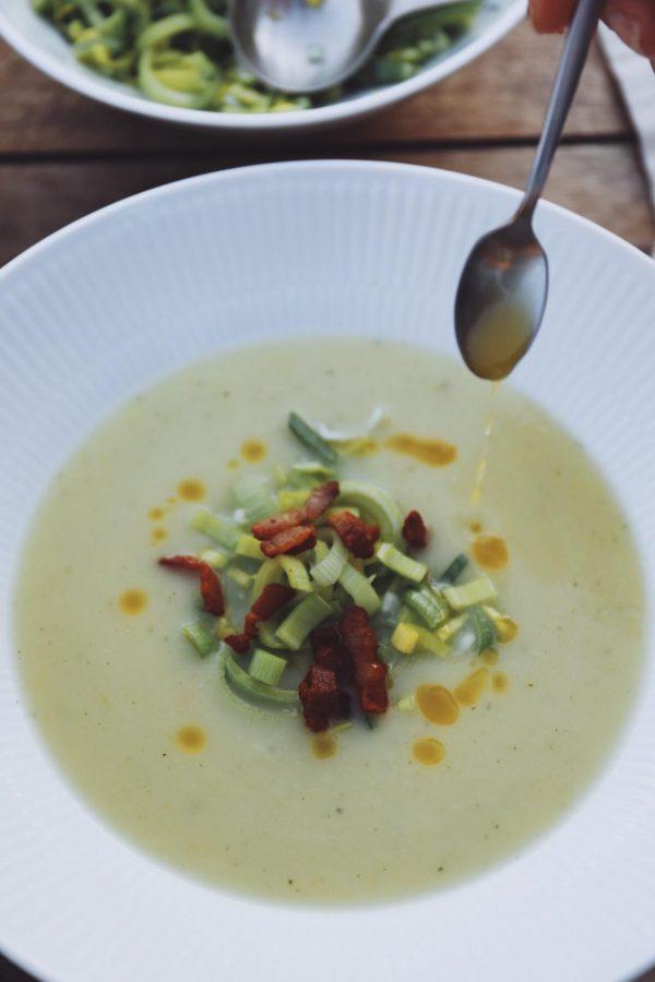 Suppesøndag: Kartoffel-porre-suppe