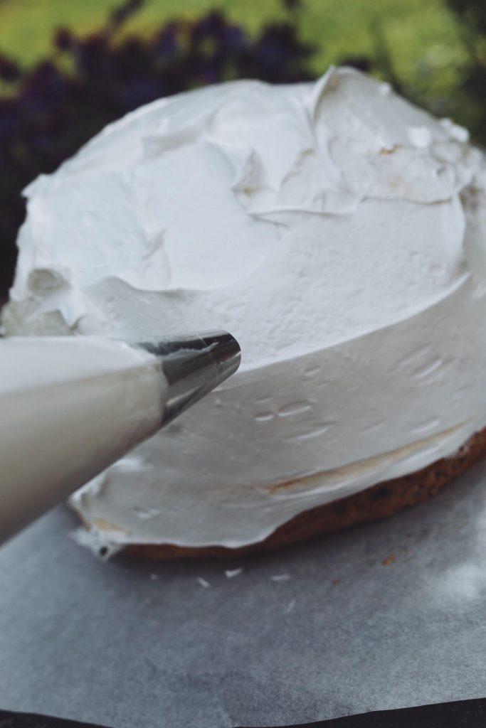 Baked Alaska (indbagt islagkage)
