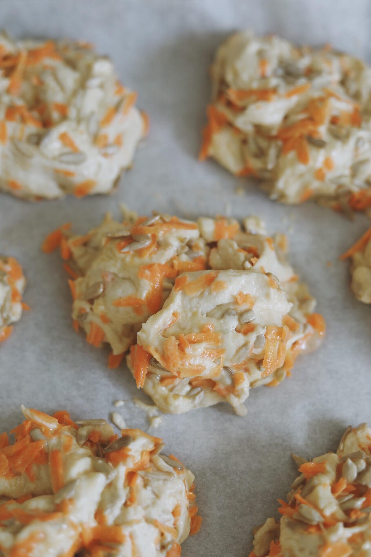 Gulerodsbrud med solsikkekerner