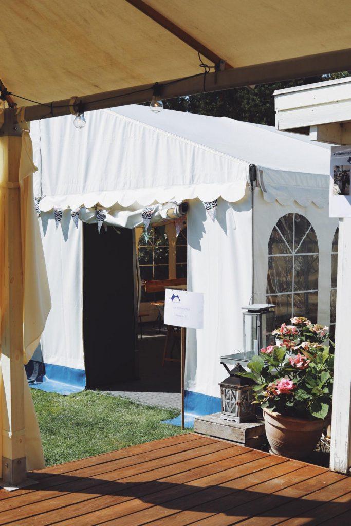 Sølvbryllupsfest med festival tema