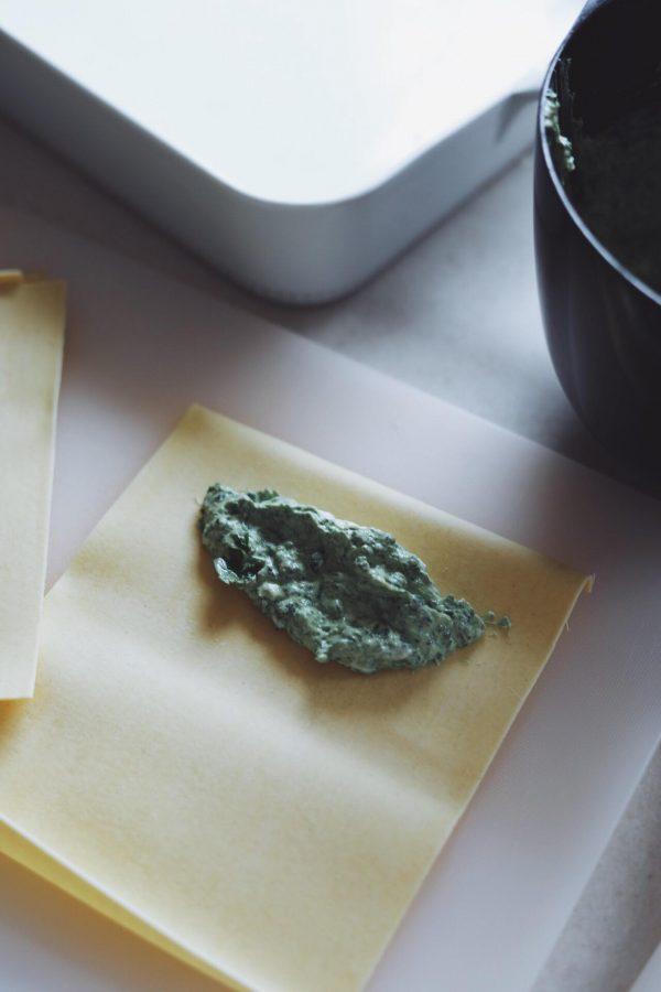 Cannelloni med ricotta og spinat
