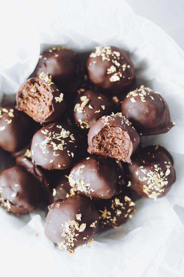Fredagshygge- Brownie kugler med nutella og kiks