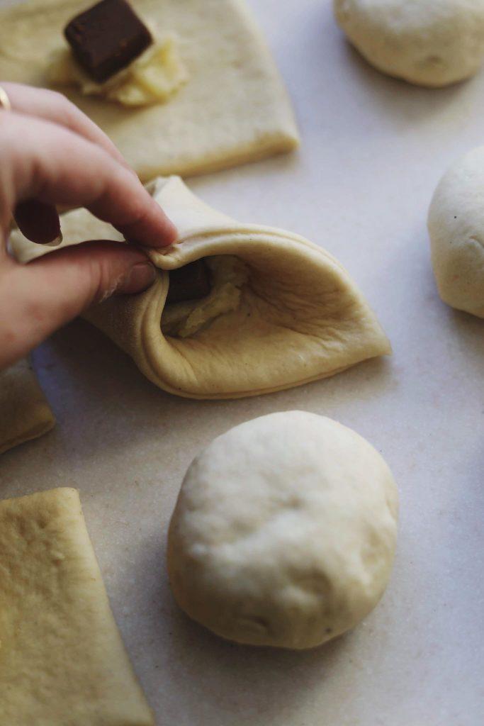 FrFastelavnsboller med remonce og glasur