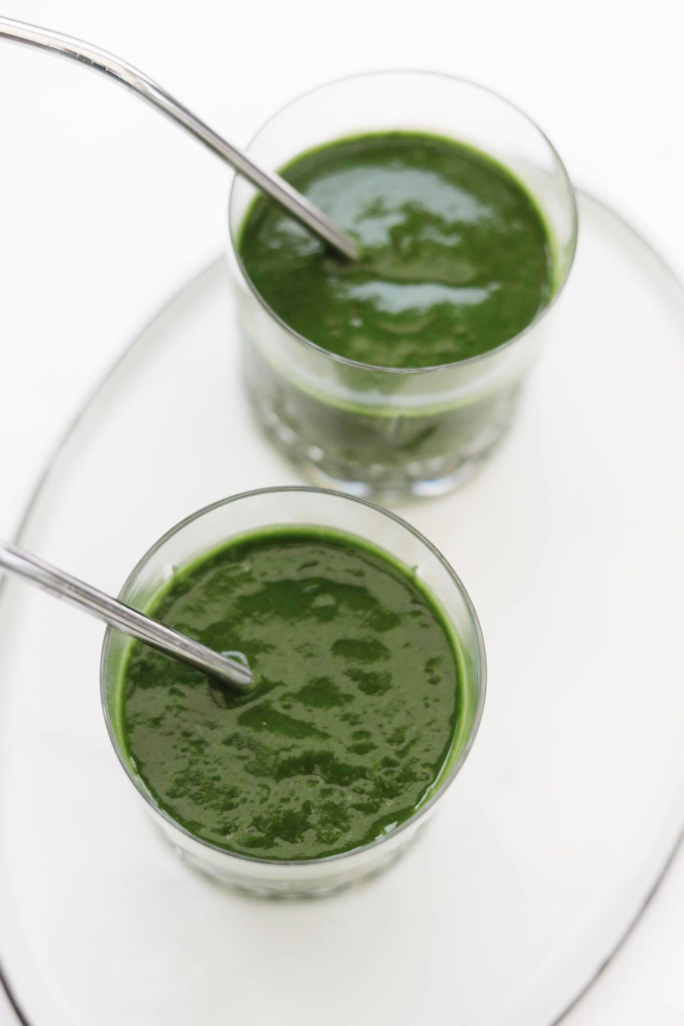 Sund grøn smoothie