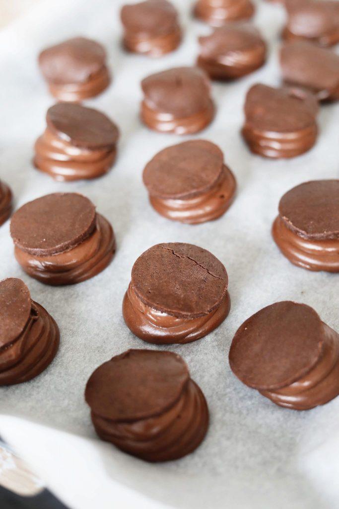 Choux au craquelin med kakao