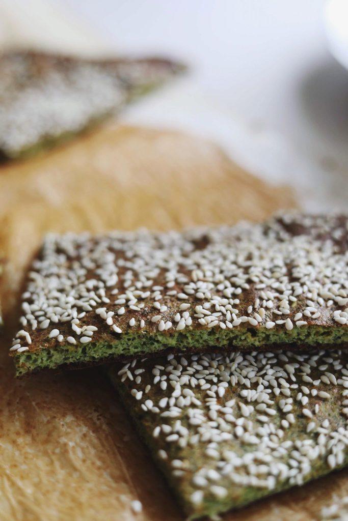 Glutenfrie broccolifladbrød