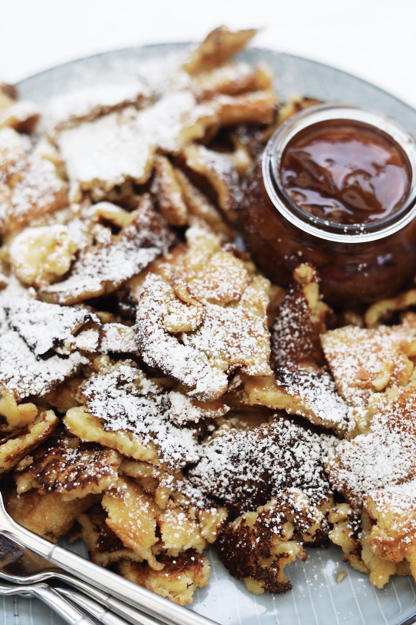 Kaiserschmarrn - Dessert af tykke pandekager
