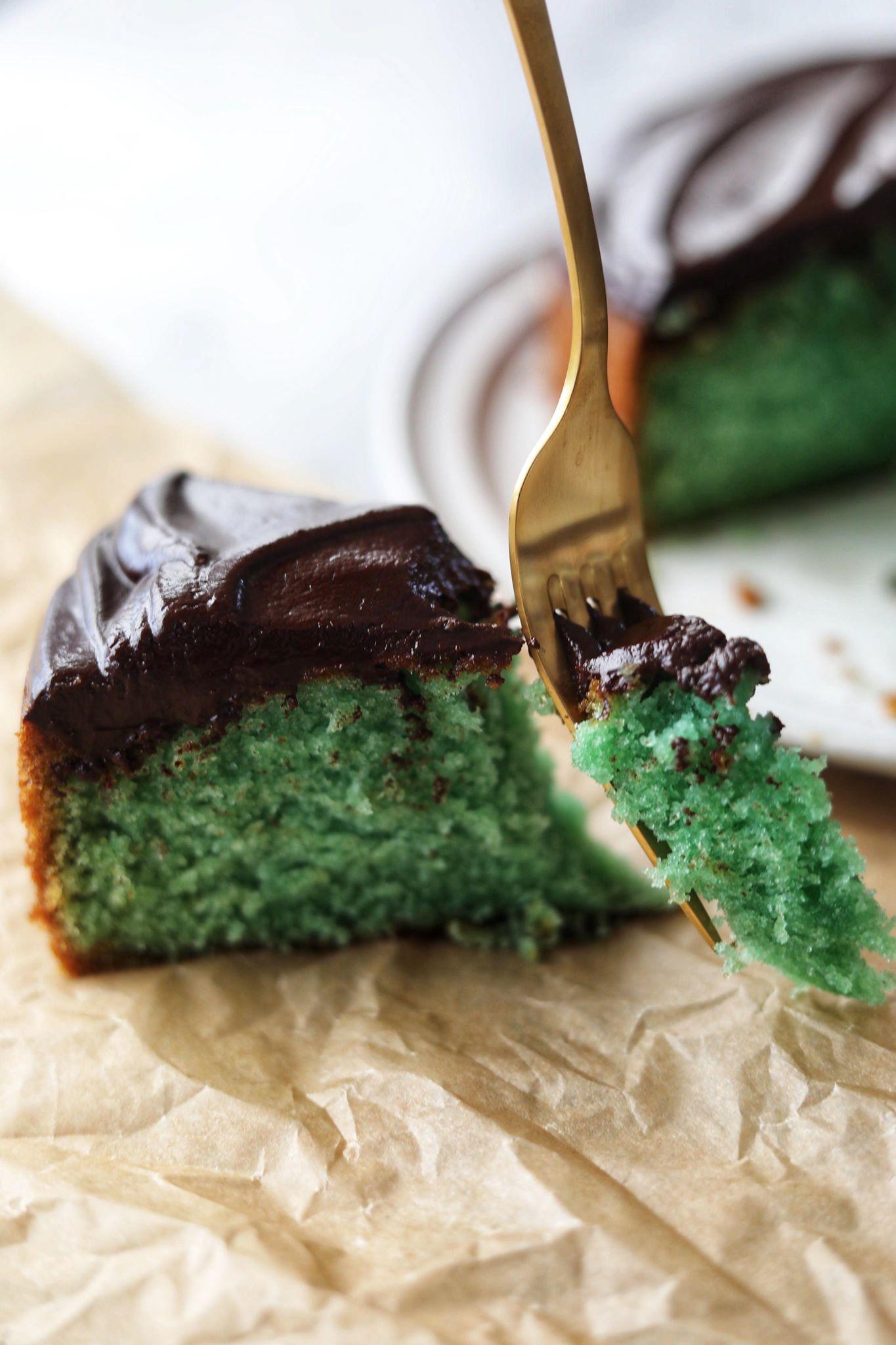 Fredagshygge- Grøn giftkage