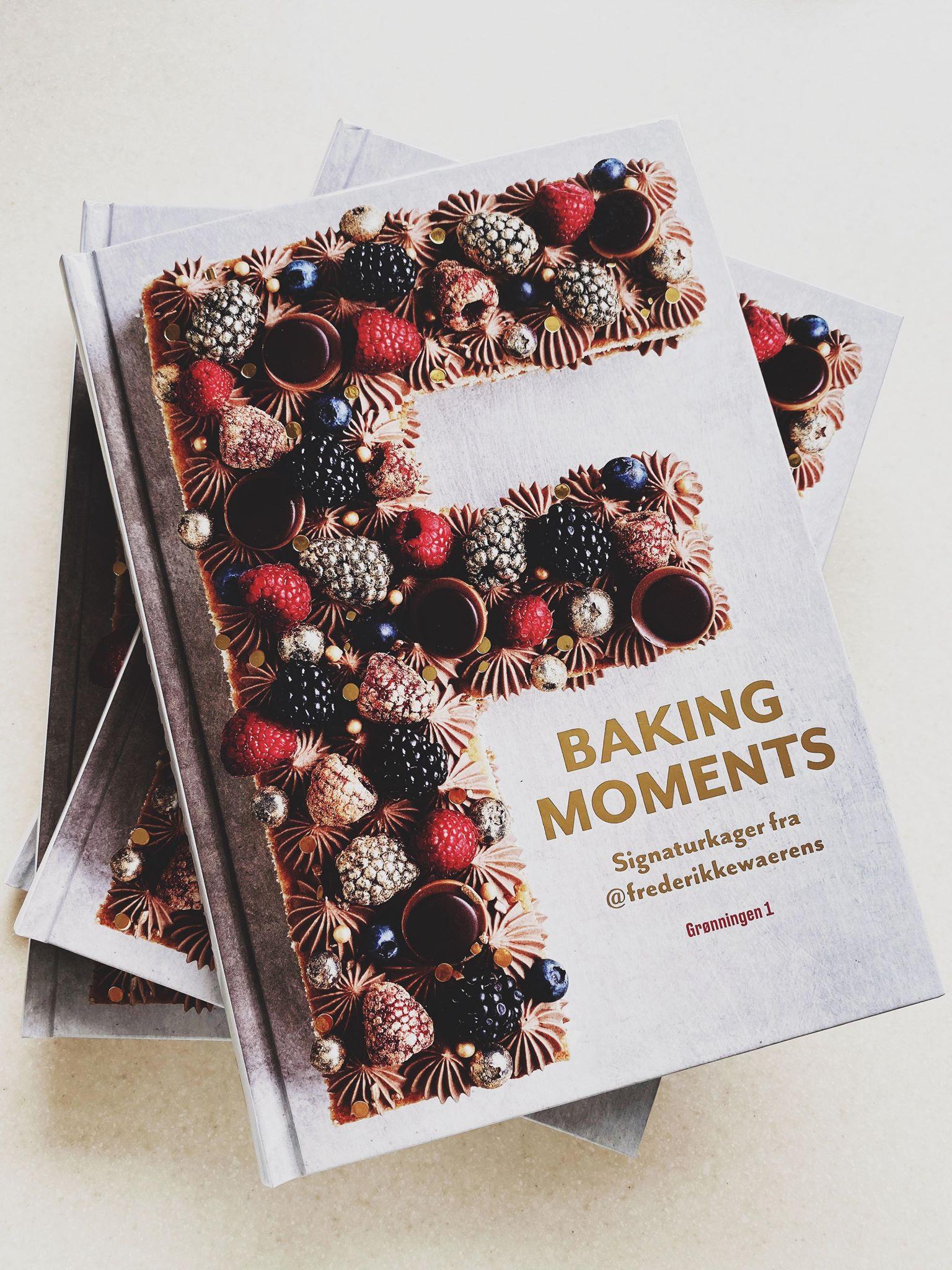 """I dag udkommer min bog """"Baking Moments"""""""