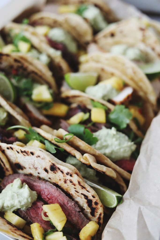 Tacos med fyld