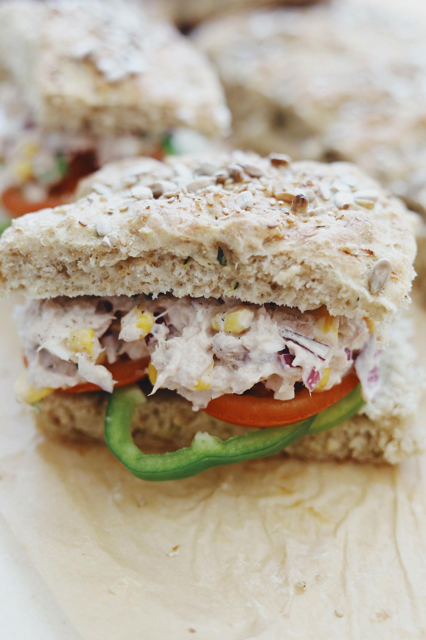 Sandwichbrød med squash