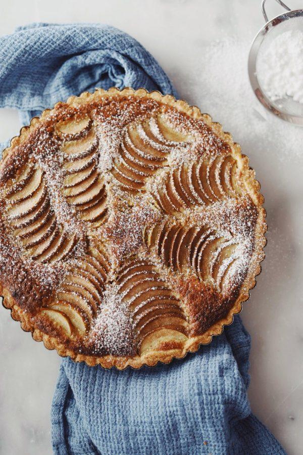 Pæretærte med frangipane