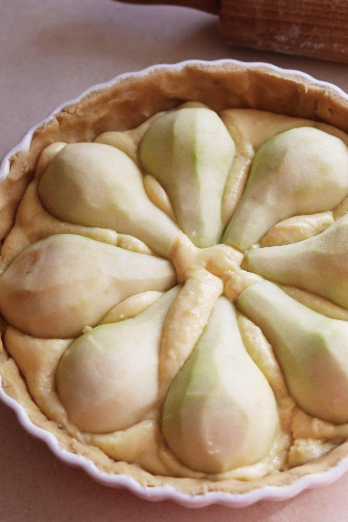 Pæretærte med låg
