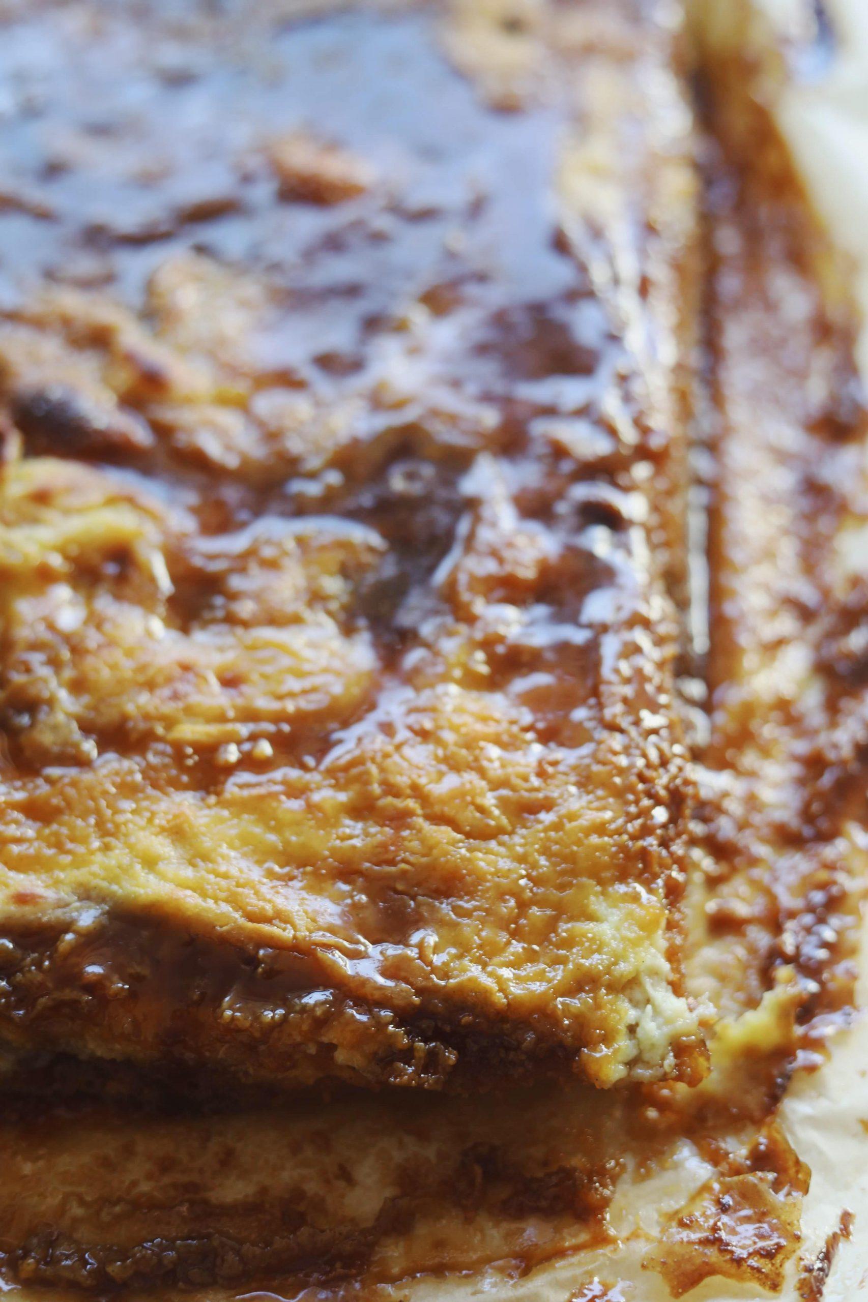 Brunsvigerkage med kagecreme