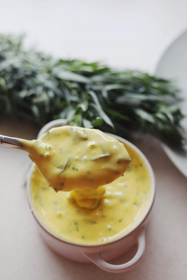 Hjemmelavet bearnaise sauce