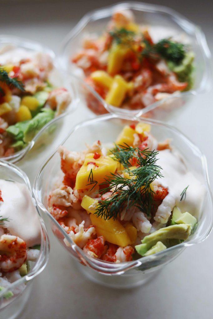 Rejecocktail med chili og mango