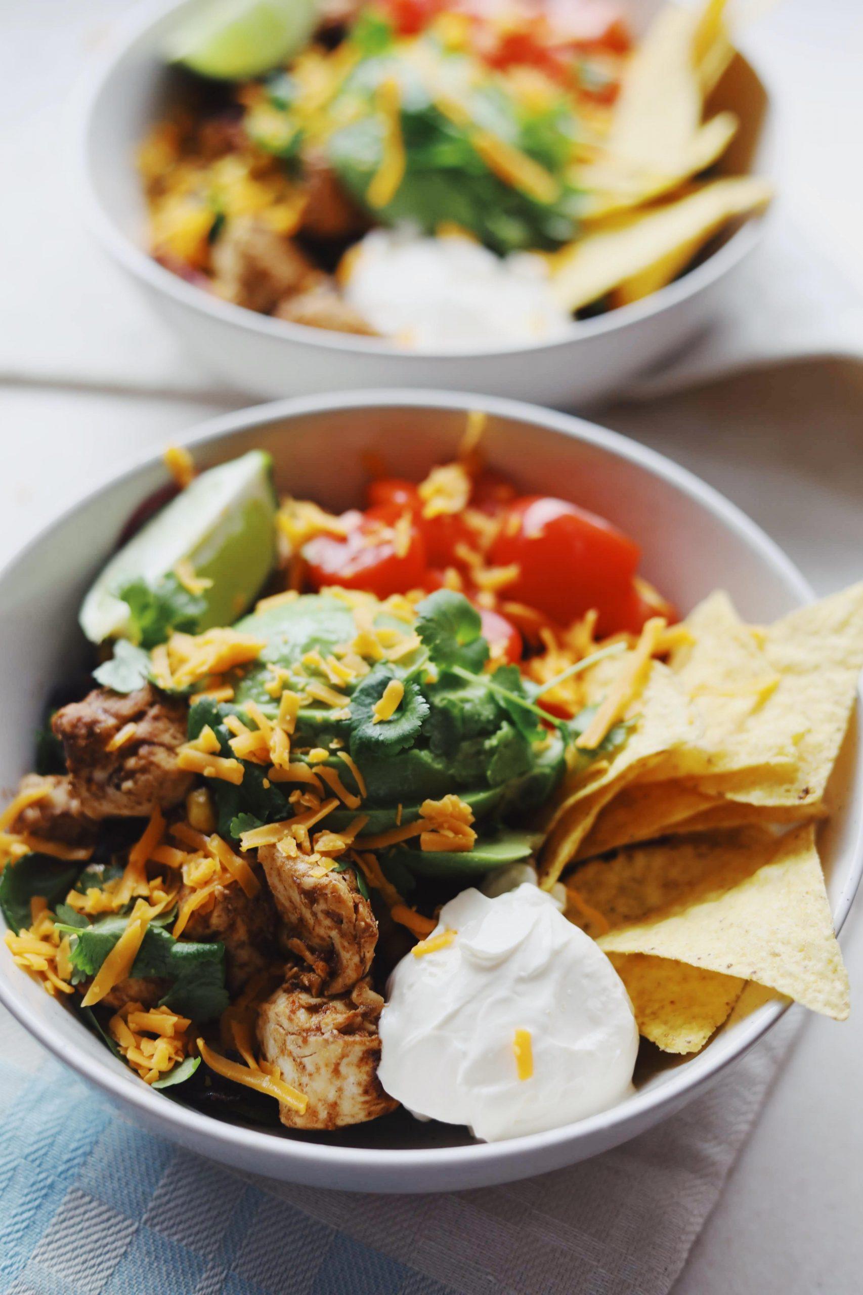 Taco salat