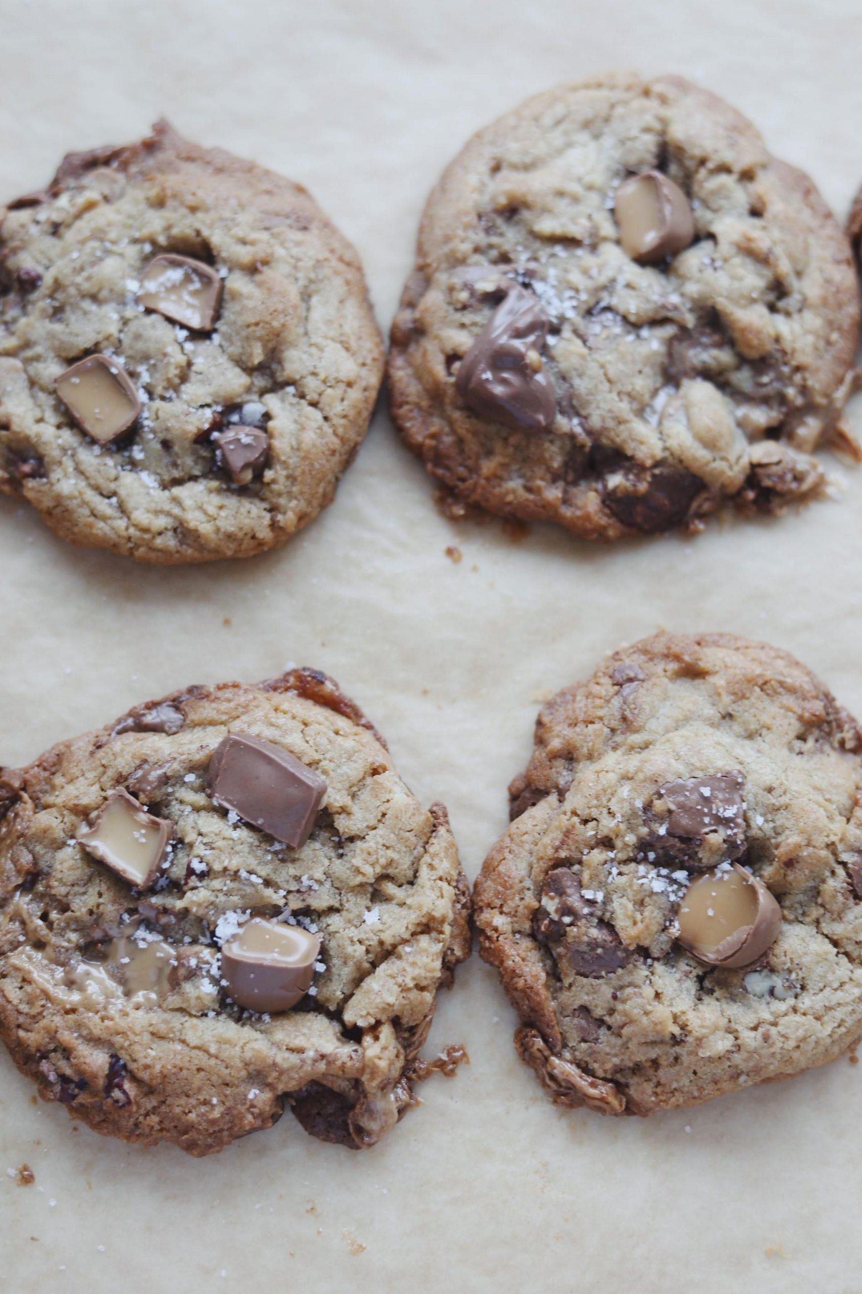 Cookies med Dumle og pekannødder