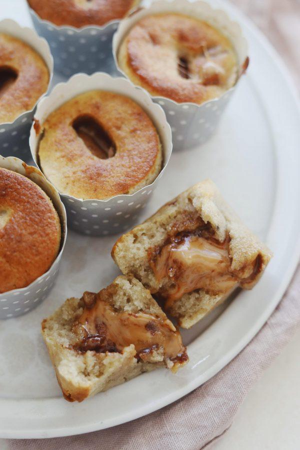 Fredagshygge- Bananmuffins med Dumle