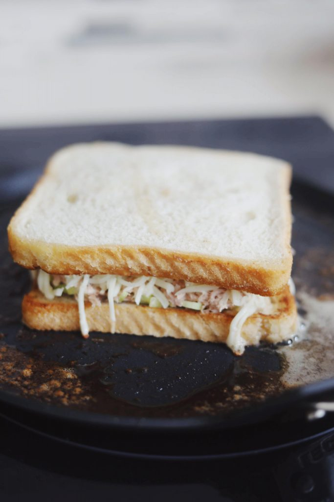 Tuna Melt Sandwich
