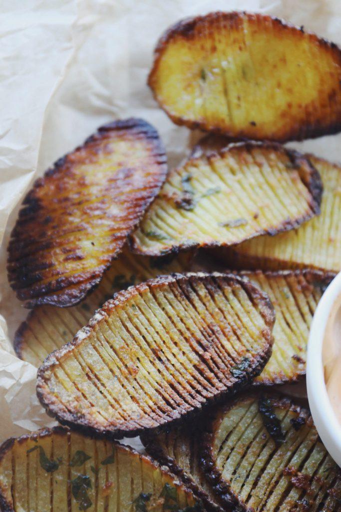 Sprøde kartofler (twistede kartofler)