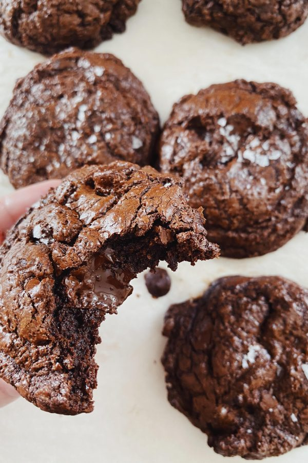 Glutenfri brownie cookies