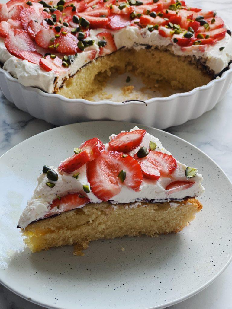 Nem jordbærtærte