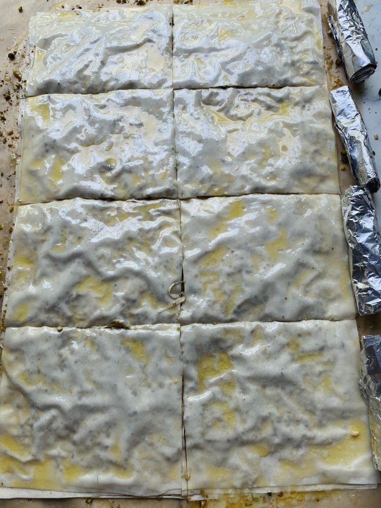 Baklava med is (saragli)